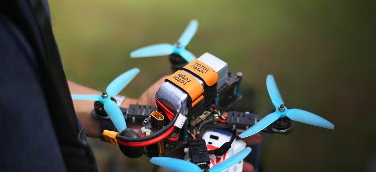 Getting started with drone racing: 3 key components