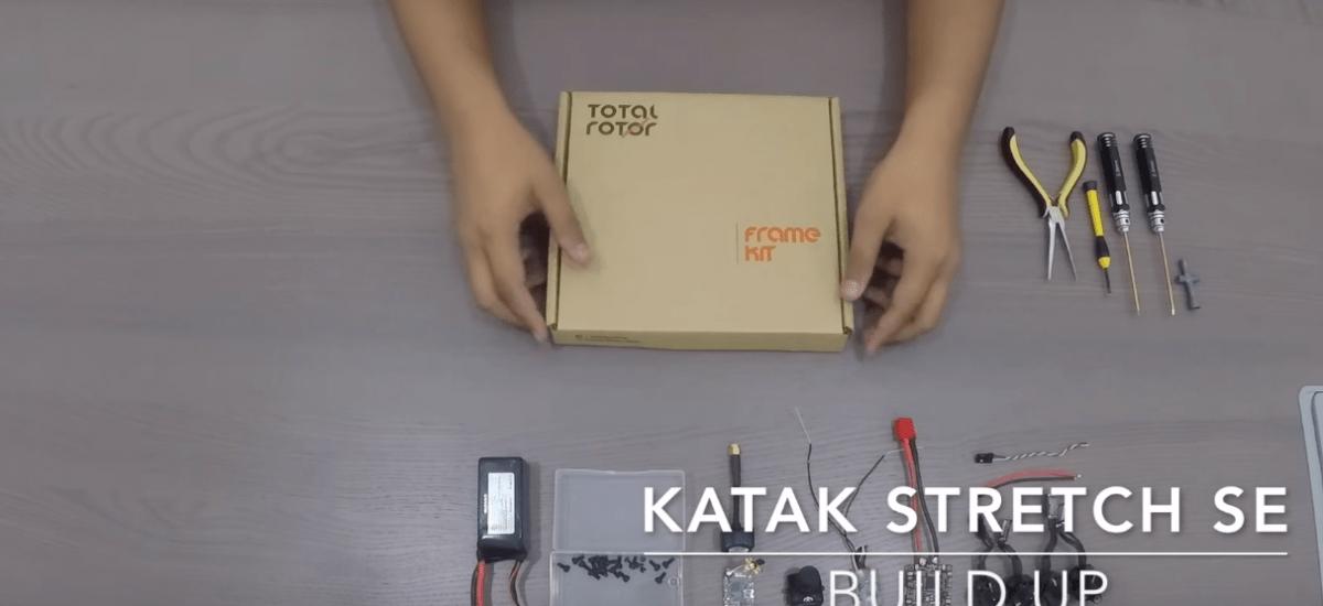 KATAK Stretch SE – Race Drone Frame BUILD UP | Total Rotor