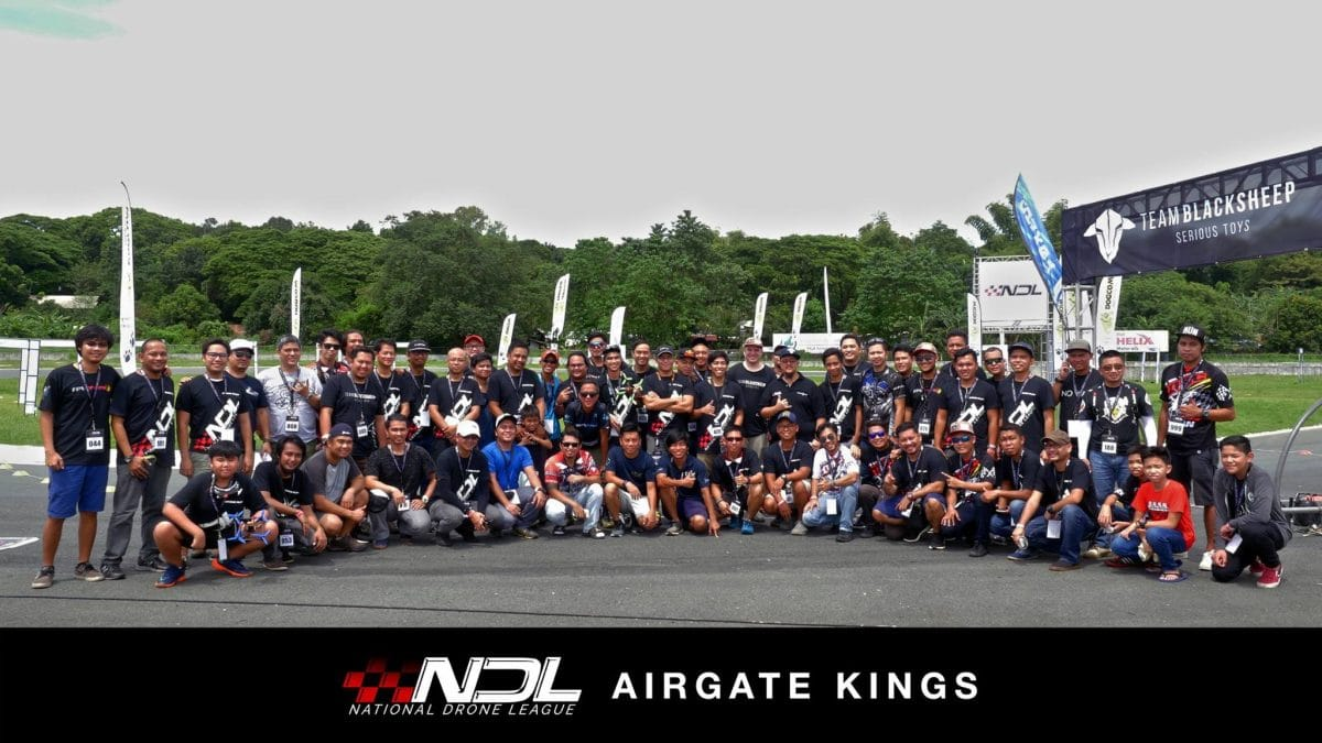 High spirits at the National Drone League Philippines
