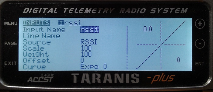 GET RSSI IN PPM/SBUS CHANNEL WITH TARANIS