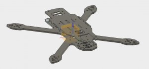 Partial CAD Assembly in Fusion 360