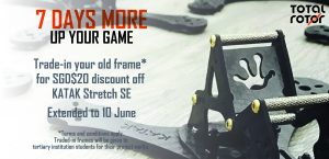 Get the KATAK Stretch SE at this special price!