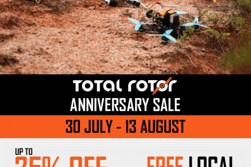 Total Rotor Anniversary Sale: 30 Jul to 13 Aug 2018