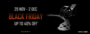 Total Rotor Black Friday Sale: 29 Nov to 2 Dec, 2019