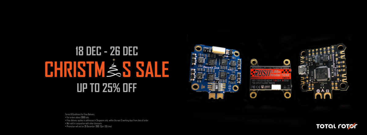 Up to 25% off storewide plus FREE DELIVERY from 18 to 26 Dec