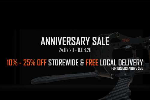 Total Rotor Anniversary Sale: 24 July to 11 August 2020