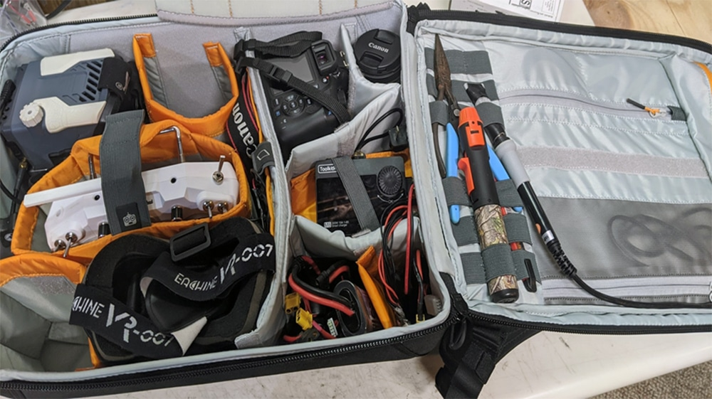 FPV Backpacks and Traveling With Your Gear – By GetFPV