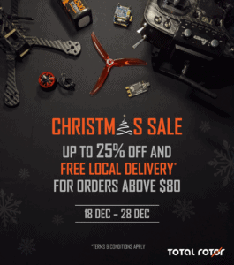 Total Rotor Christmas Sale: 18 to 28 December 2020